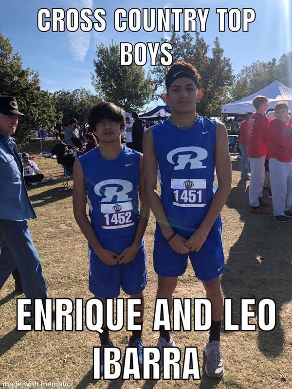 Cross Country Top Boys Enrique And Leo Ibarra